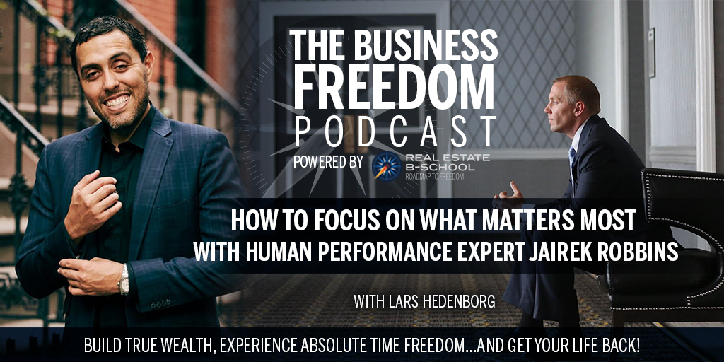 How to Focus on What Matters Most with Human Performance Expert Jairek Robbins