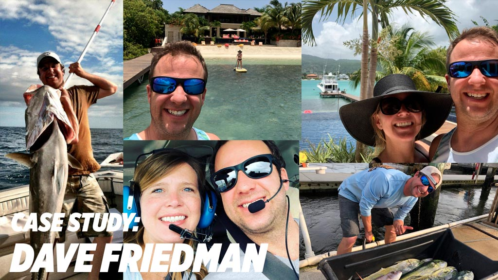 Meet Dave, who went from working over 80 hrs each week to taking 15 weeks of vacation each year